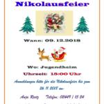 Einladung zum Nikolaus-2018