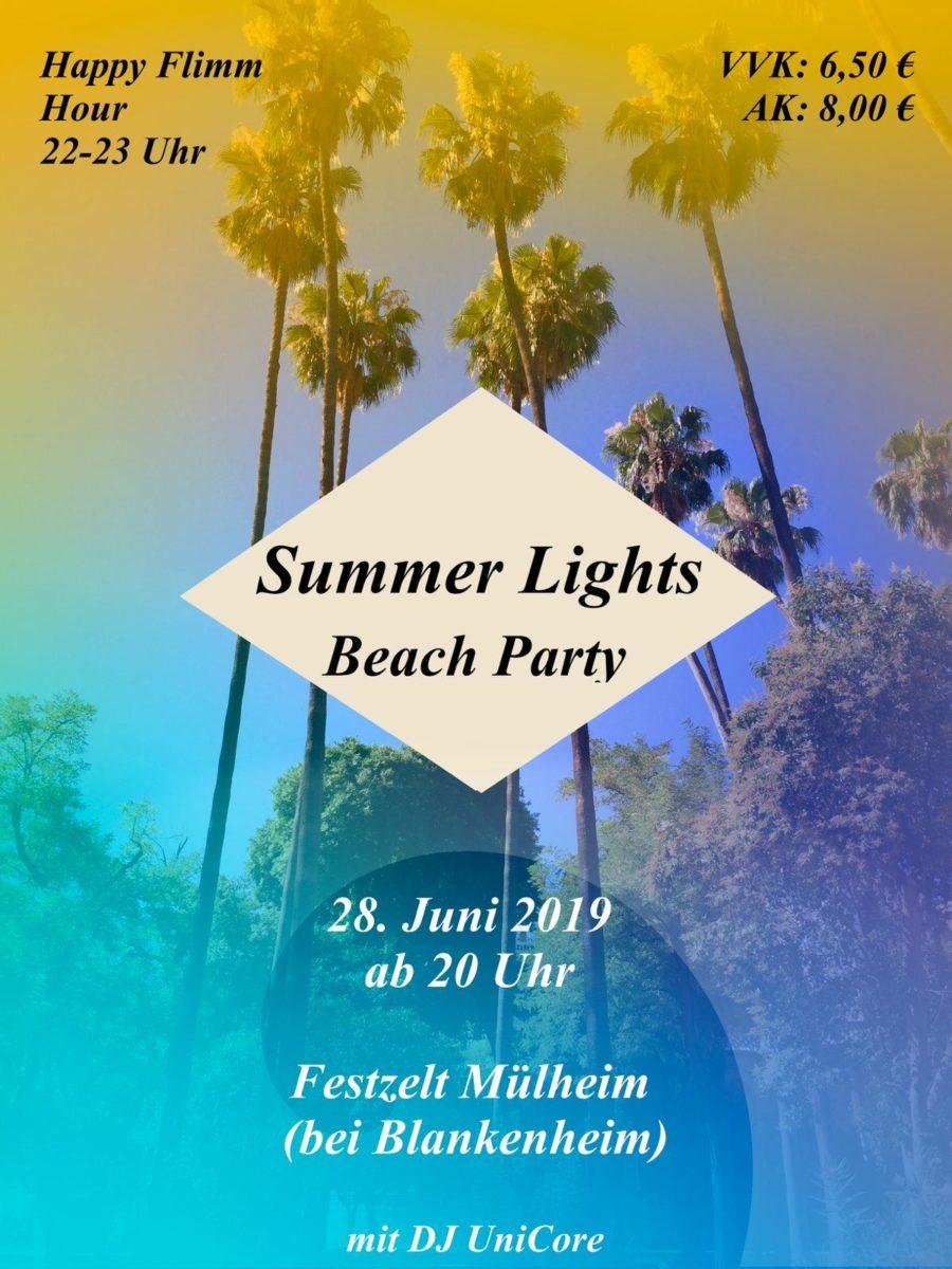 Summer Lights Beach Party